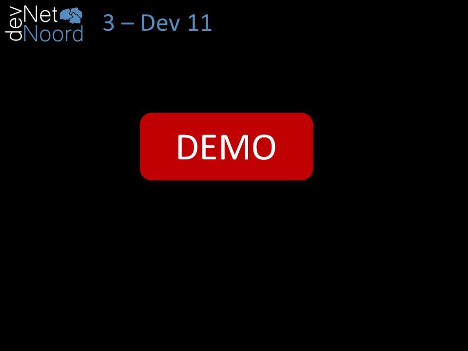 3 – Dev 11 Bike DEMO