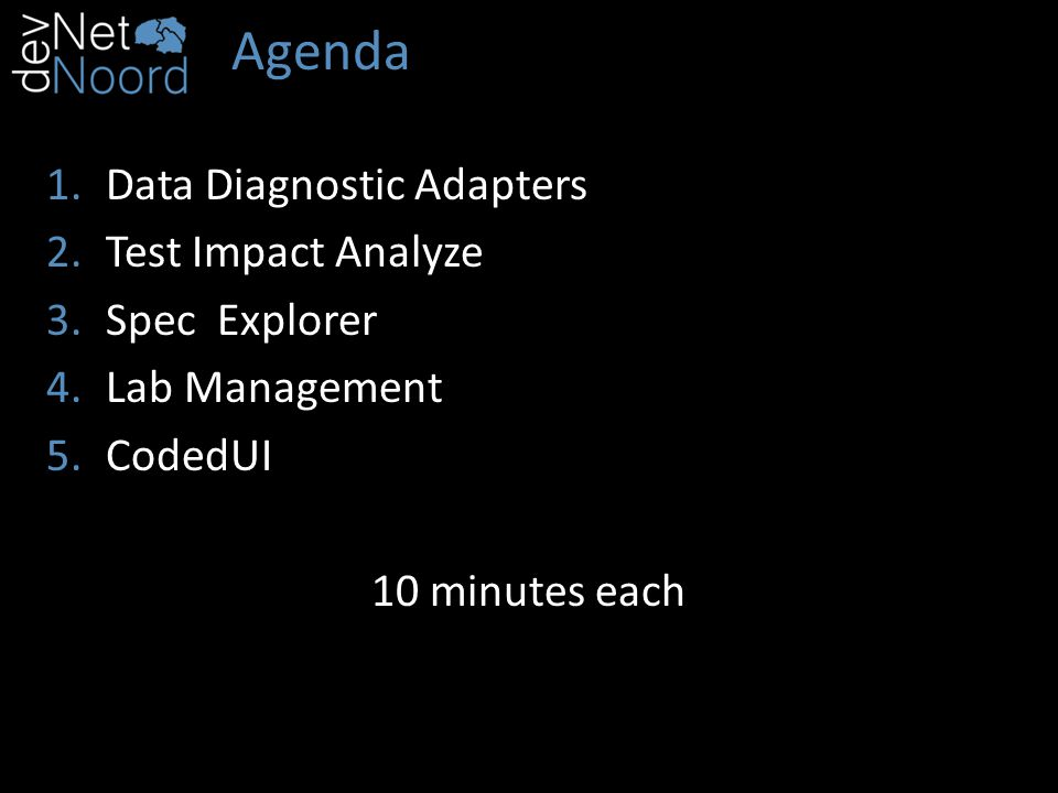 4 – Lab Management Run tests in multiple environments 4 speed 4 environment tests
