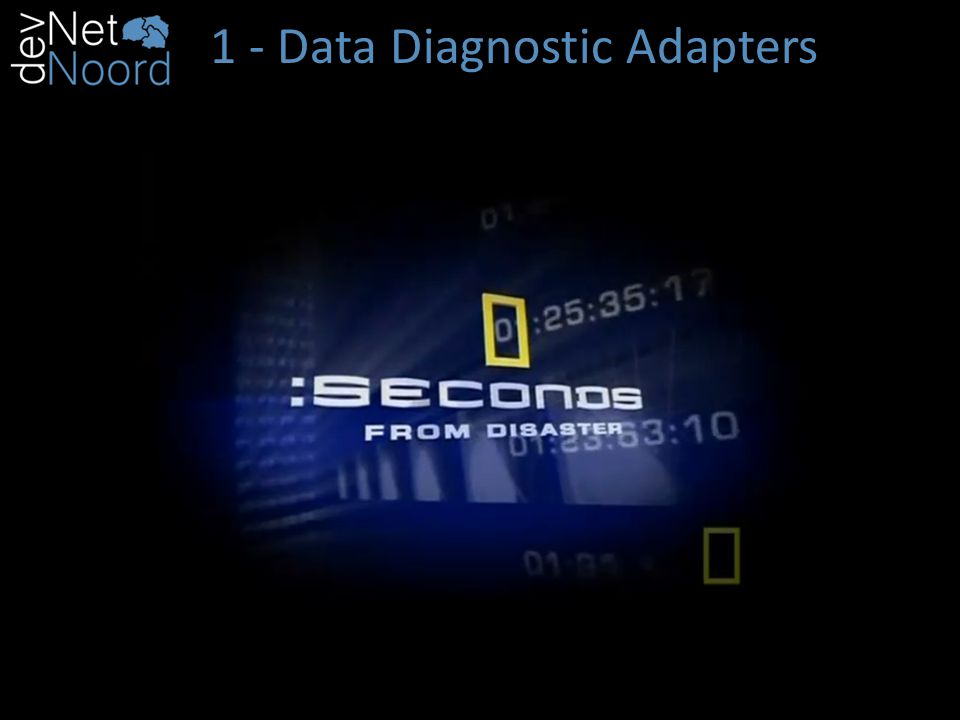 1 - Data Diagnostic Adapters