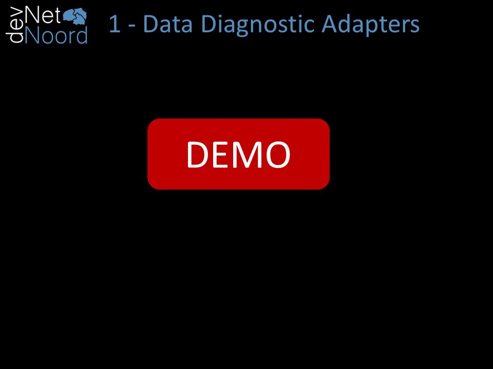 1 - Data Diagnostic Adapters create your own