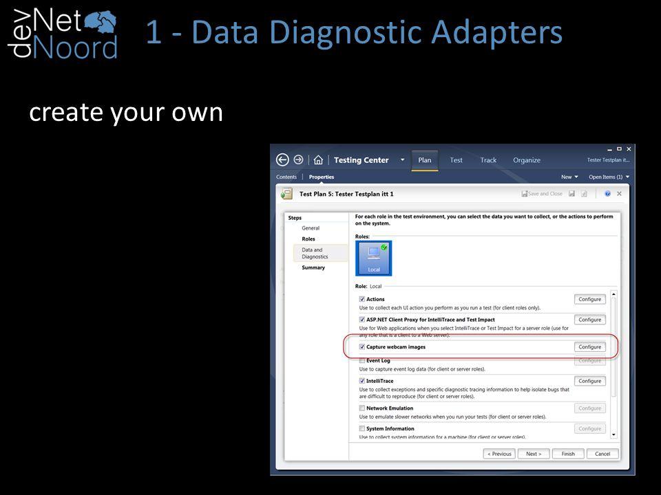 1 - Data Diagnostic Adapters using Microsoft.VisualStudio.TestTools.Common;
