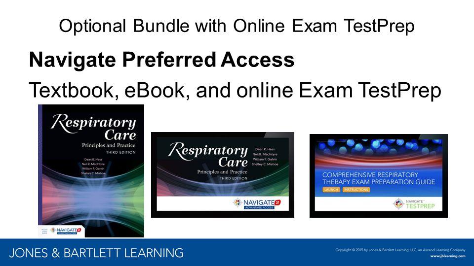 Optional Bundle with Online Exam TestPrep Navigate Preferred Access Textbook, eBook, and online Exam TestPrep