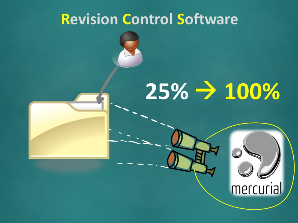 Revision Control Software RCS 25%  100%
