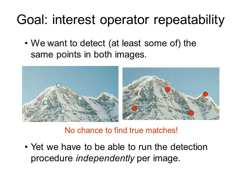 Blob detection in 2D: scale selection Laplacian-of-Gaussian = blob detector filter scales img1 img2 img3 Bastian Leibe