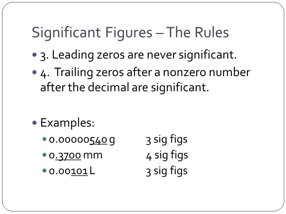 200 dollars 1 sig fig Rule 1, 5