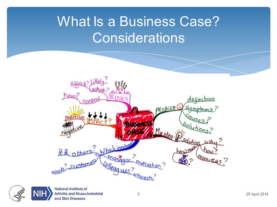 What Is a Business Case? Considerations 29 April 20145