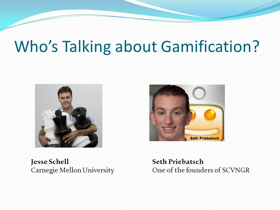 Who's Talking about Gamification.