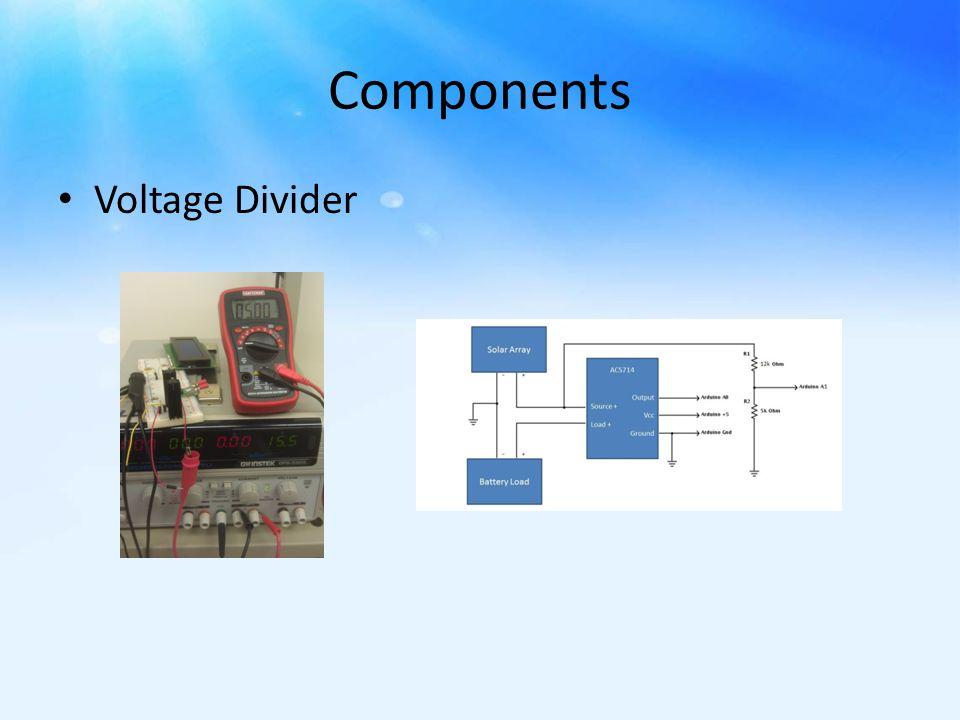 Components Voltage Divider