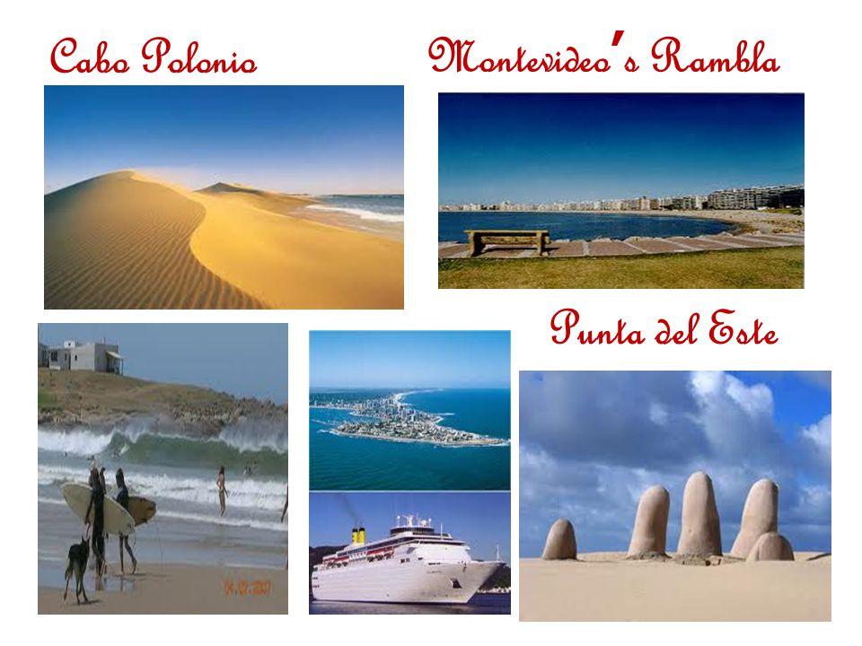 Punta del Este Cabo PolonioMontevideo's Rambla