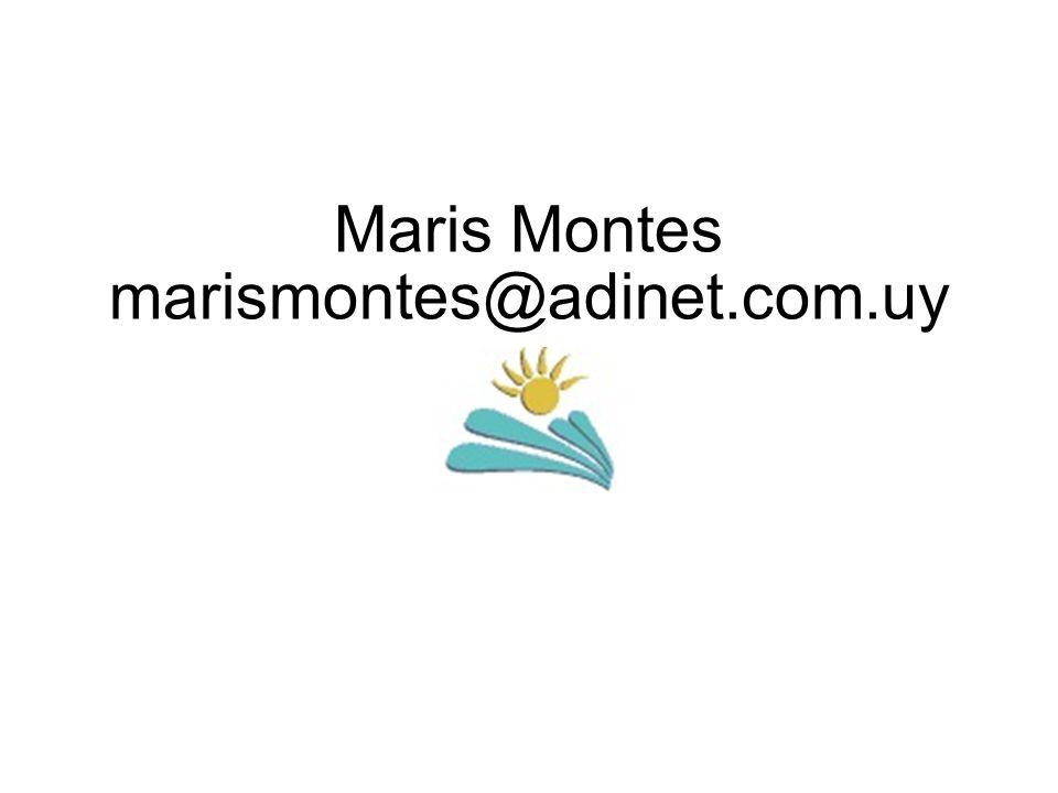 Maris Montes marismontes@adinet.com.uy
