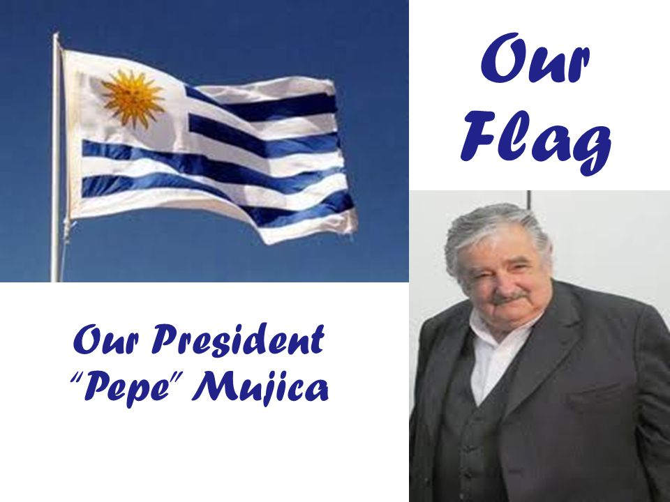 Our Flag Our President Pepe Mujica