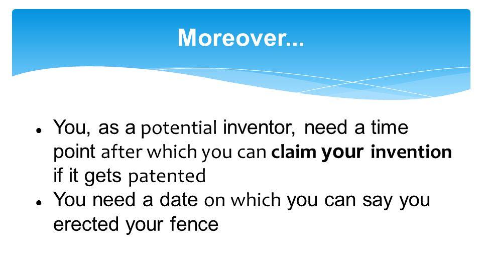 Moreover...