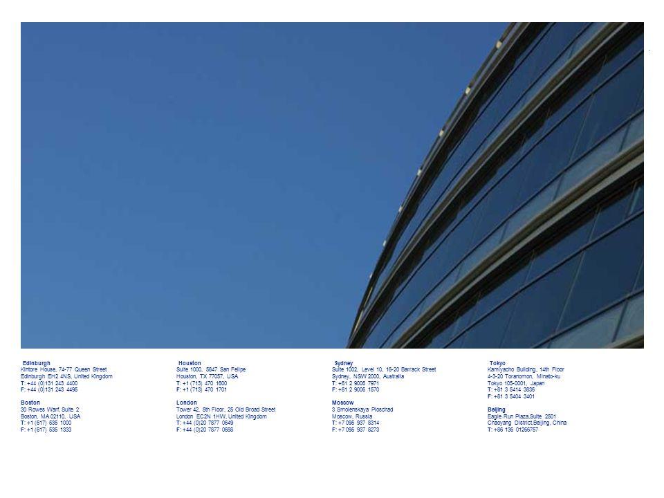 www.woodmac.com Page 25 Tokyo Kamiyacho Building, 14th Floor 4-3-20 Toranomon, Minato-ku Tokyo 105-0001, Japan T: +81 3 5414 3836 F: +81 3 5404 3401 B