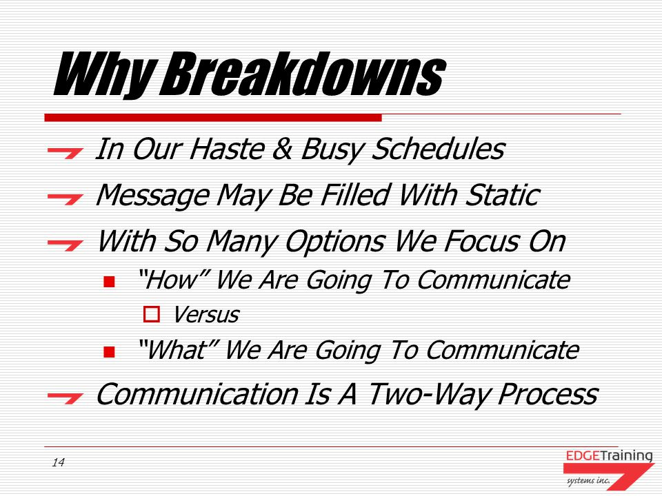 13 Communication Breakdowns If We Are Such Great Communicators...