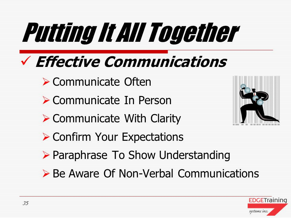 34 Best Practices Effective Communications  One On One  Face To Face  Group Communications  Phone Conversations  Written Communications