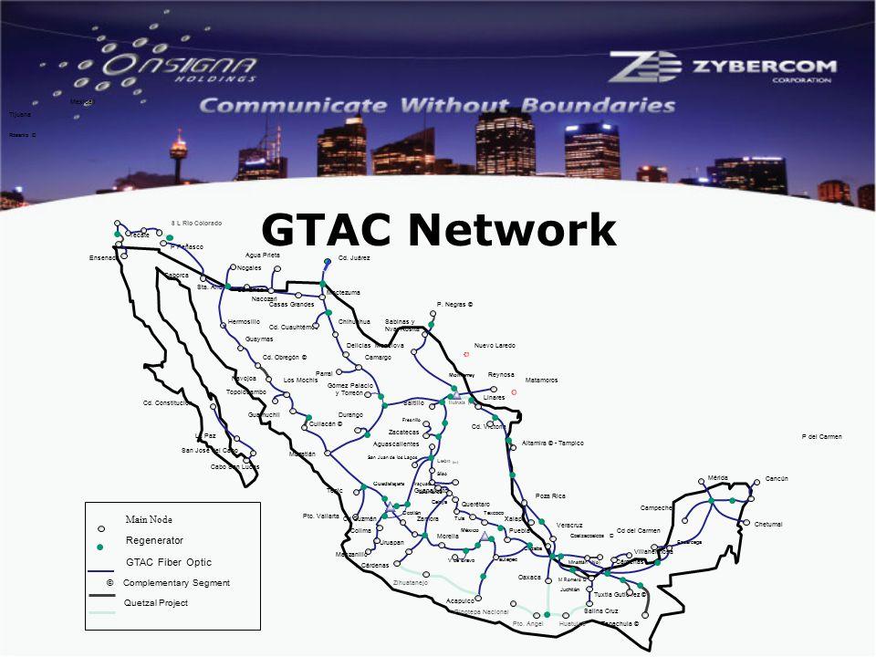 Tijuana Mexicali P del Carmen Rosarito © GTAC Network