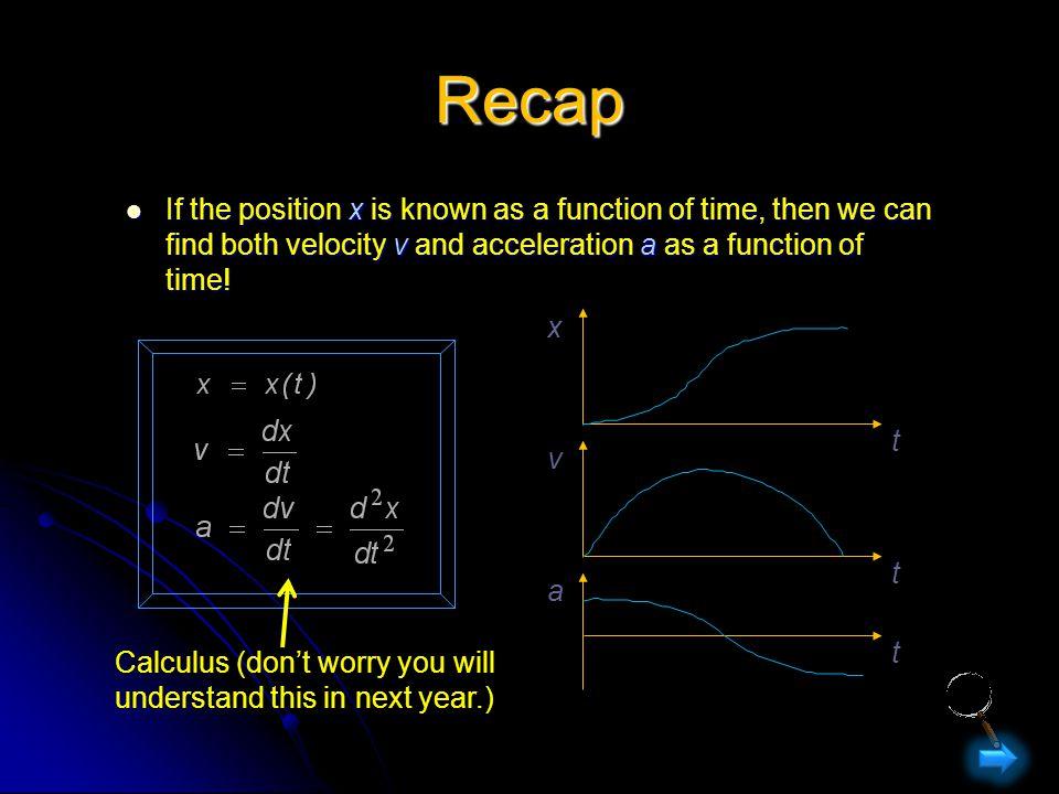 1-D kinematics...
