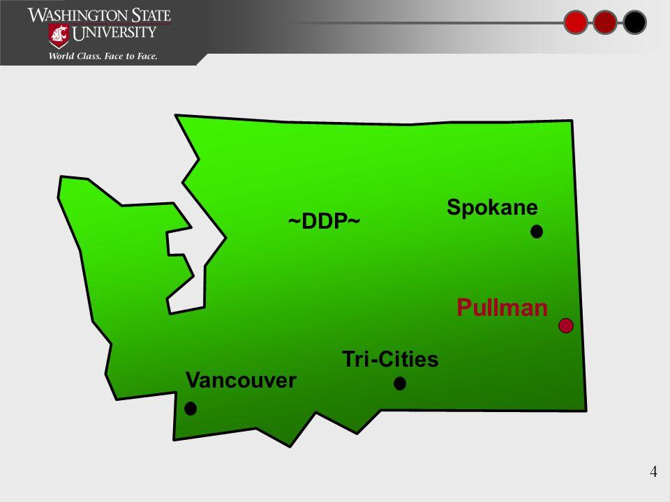 4 Pullman Tri-Cities Vancouver Spokane ~DDP~