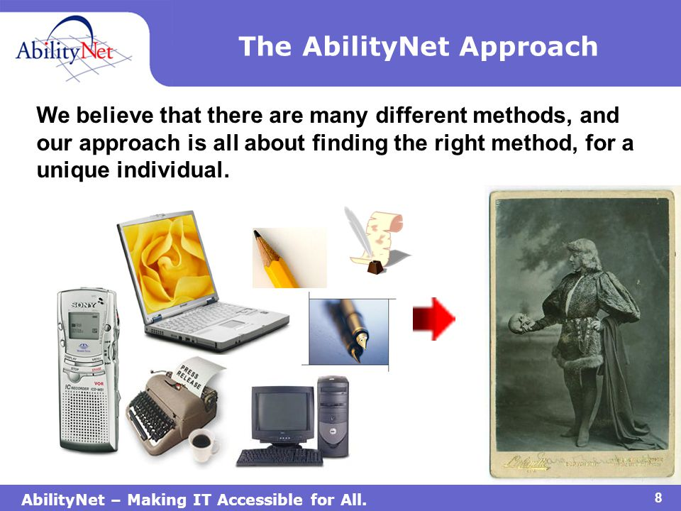 AbilityNet – Making IT Accessible for All.