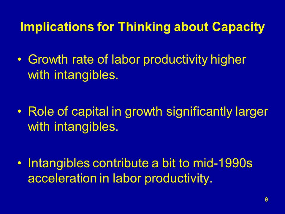 Implications for thinking about the Knowledge Economy
