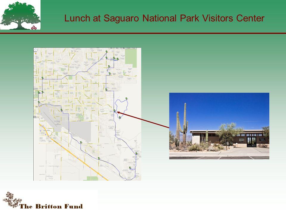Lunch at Saguaro National Park Visitors Center
