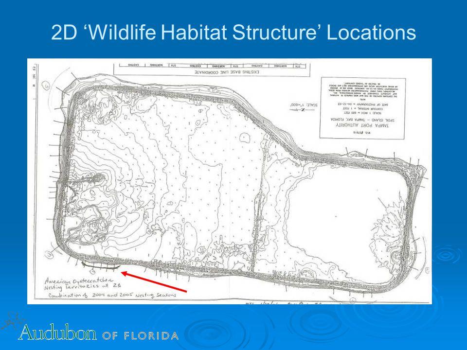 2D 'Wildlife Habitat Structure' Locations