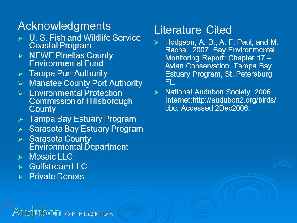 Acknowledgments   U. S.