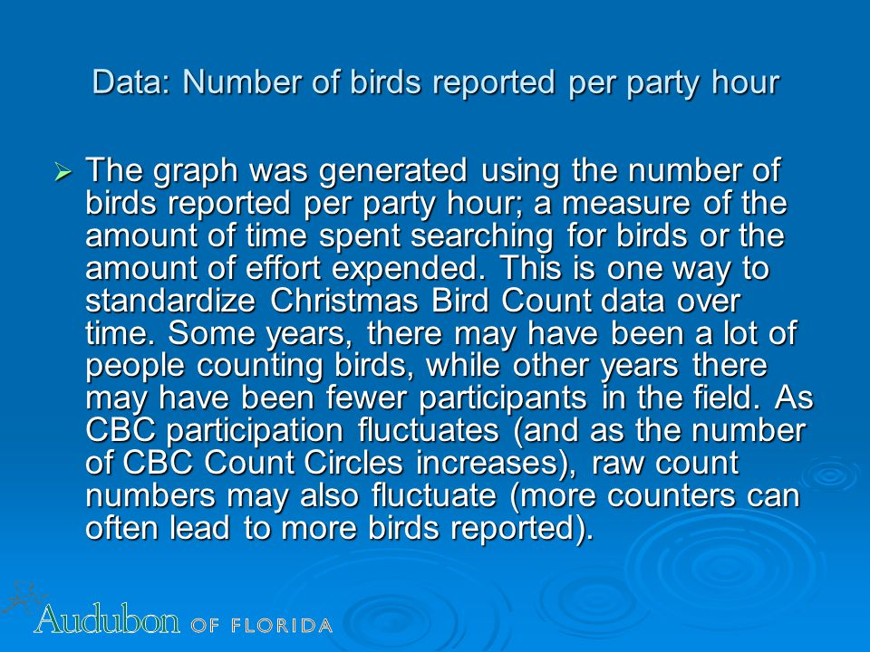 CBC FL - raw count numbers