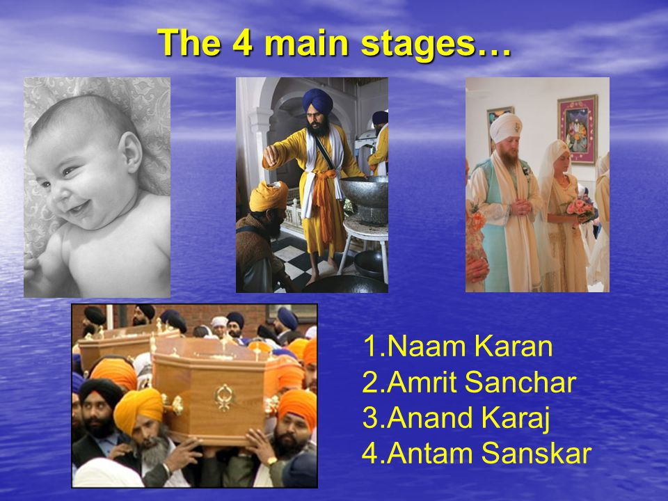 Naam Karan – Naming ceremony When naming a child there are no time limits, all that matters is the well being of the mother and child.