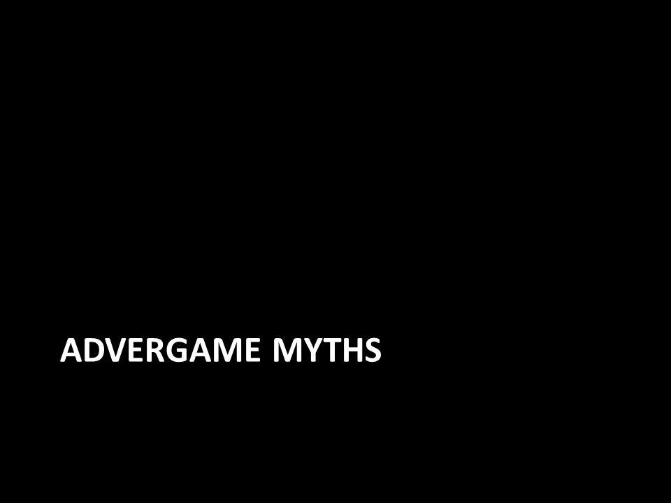 ADVERGAME MYTHS