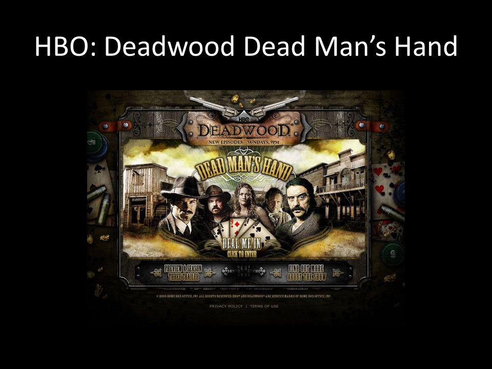 HBO: Deadwood Dead Man's Hand