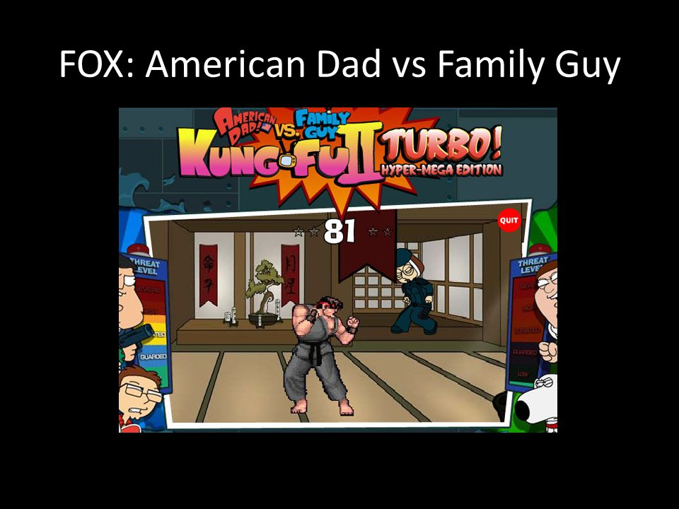 FOX: American Dad vs Family Guy