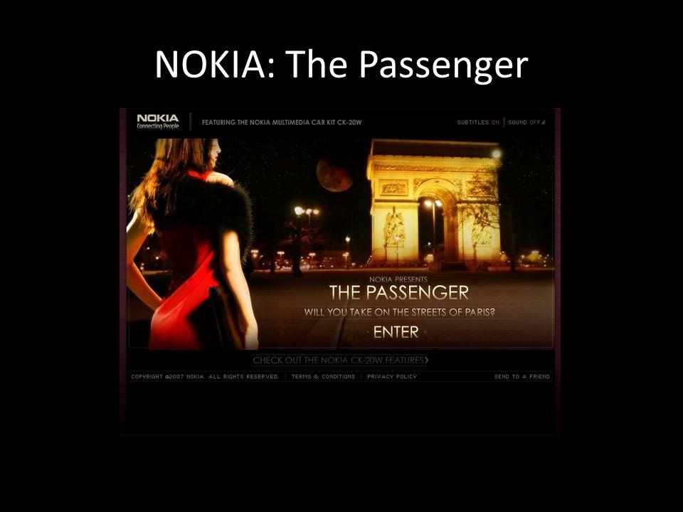 NOKIA: The Passenger