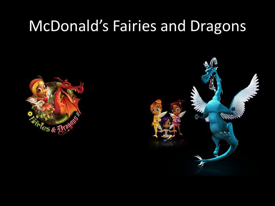 McDonald's Fairies and Dragons