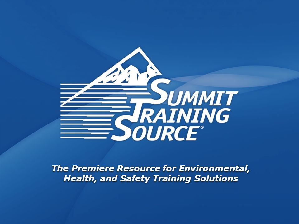 www.safetyontheweb.com Bloodborne Pathogens 1 The Premiere Resource for Environmental, Health, and Safety Training Solutions