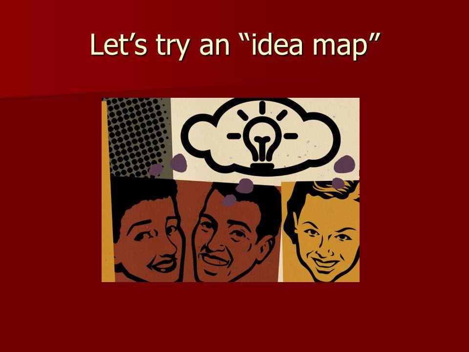 Let's brainstorm some ideas.
