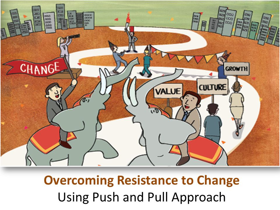 Cultivate Talent Overcoming Resistance to Change Using Push and Pull Approach