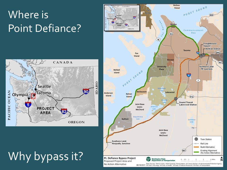 Where is Point Defiance Why bypass it