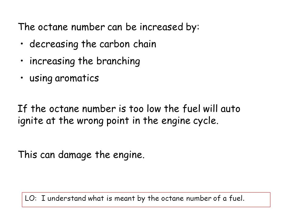 5.6.3 Petrol Production LO: I understand how petrol is made.