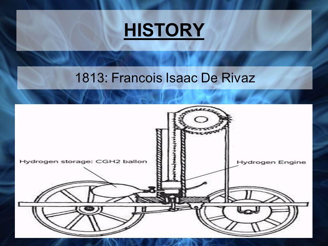 HISTORY 1813: Francois Isaac De Rivaz