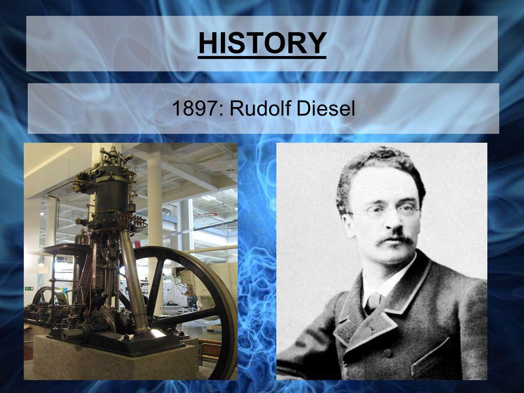 HISTORY 1897: Rudolf Diesel