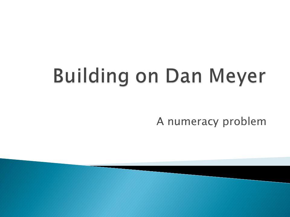 A numeracy problem