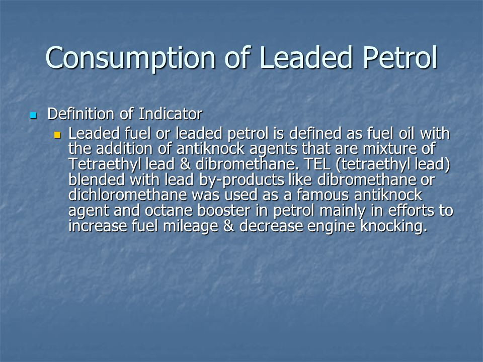 Consumption of Leaded Petrol in Jamaica Officially, petrol stations in Jamaica began selling unleaded fuel in April 2000.