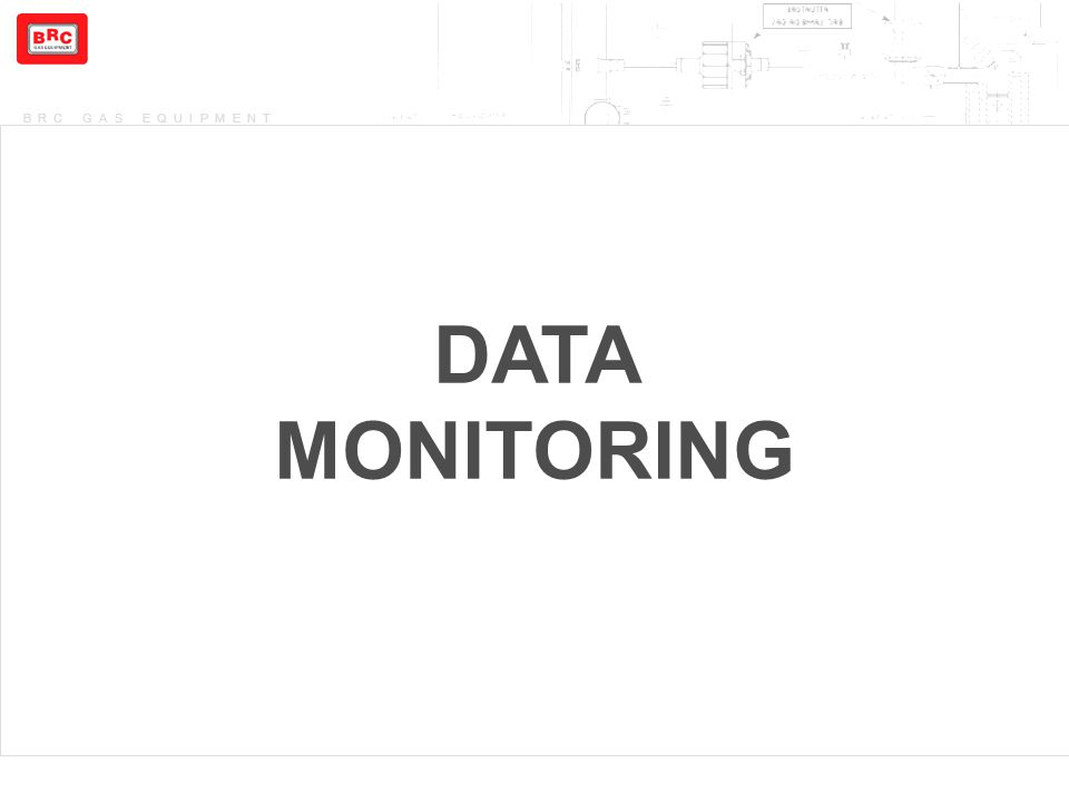 BRC GAS EQUIPMENT DATA MONITORING