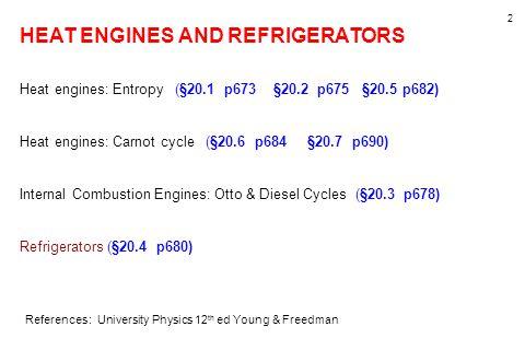 13 An ideal engine e.g.