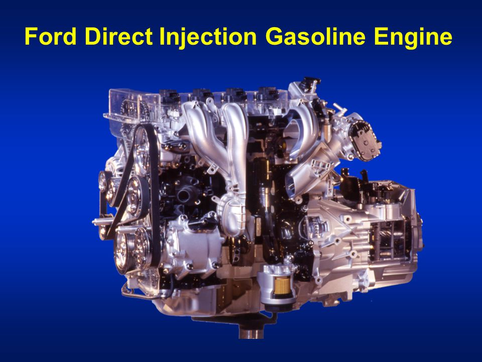 Ford Direct Injection Gasoline Engine