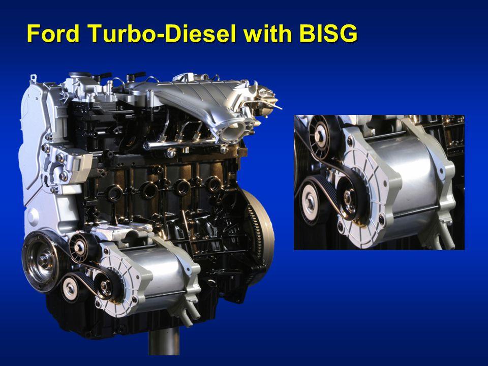 Ford Turbo-Diesel with BISG