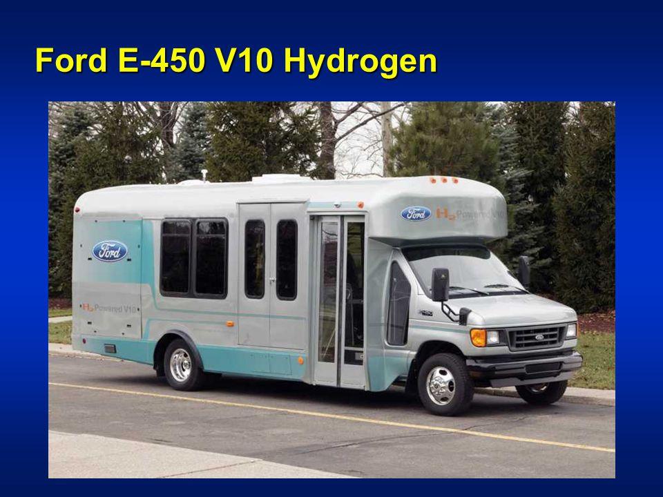 Ford E-450 V10 Hydrogen
