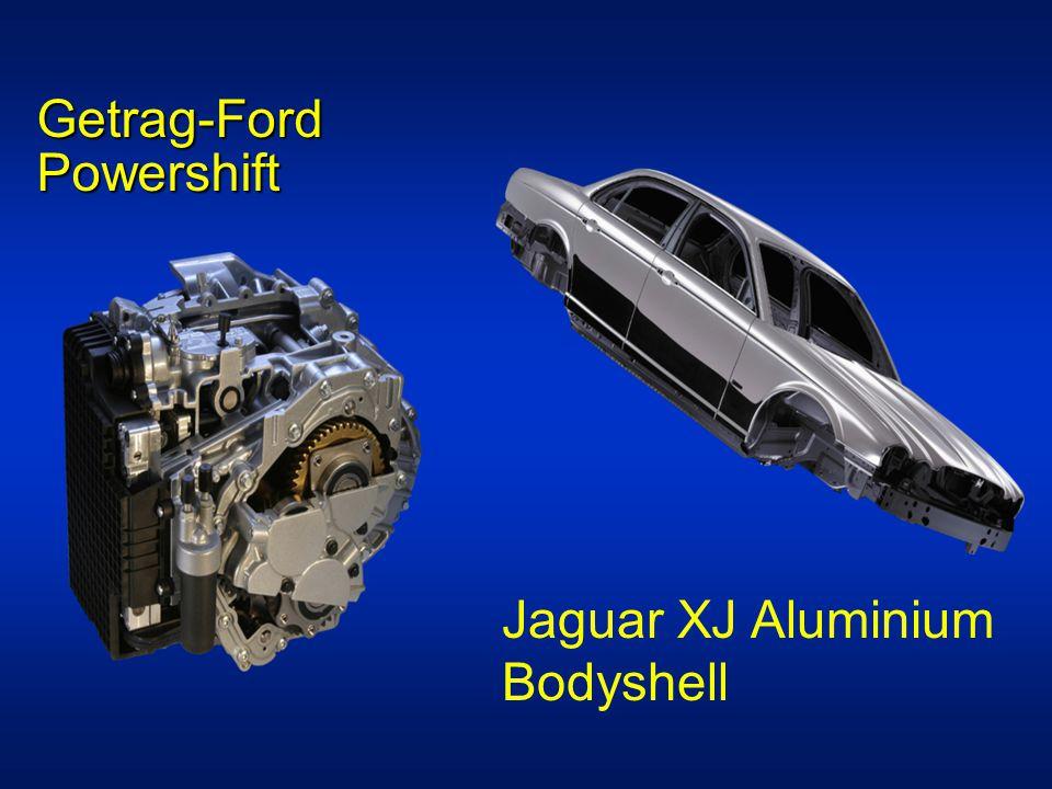 Getrag-Ford Powershift Jaguar XJ Aluminium Bodyshell