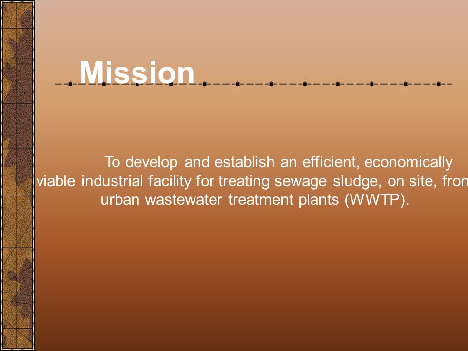 Background Sewage sludge is a massive global environmental problem.